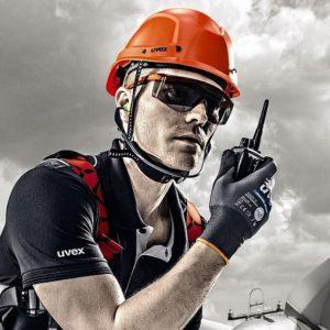 Casque de protection chantier UVEX