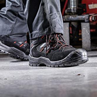 Chaussure Dickies everyday noir et rouge
